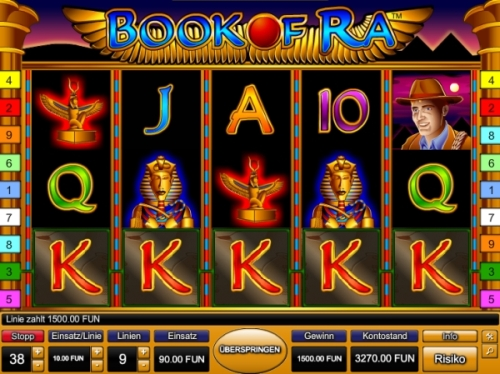 online casino spiele book of raw