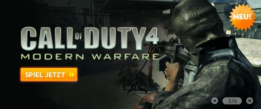 Call of Duty 4 Automatenspiel online spielen