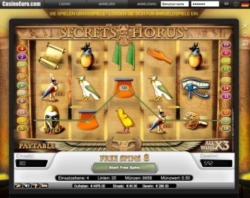 Secrets of Horus Slot - Spela Secrets of Horus Slots gratis online