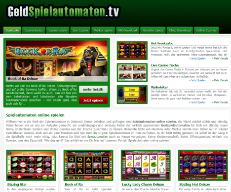 video spielautomaten online