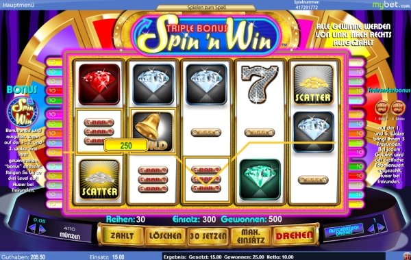 spin and win online spielen