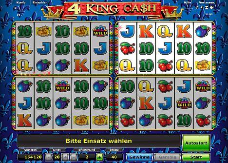 4 King Cash von Novoline