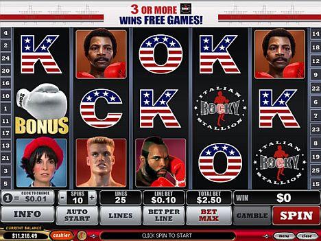 Rocky online spielen im Eurogrand Casino
