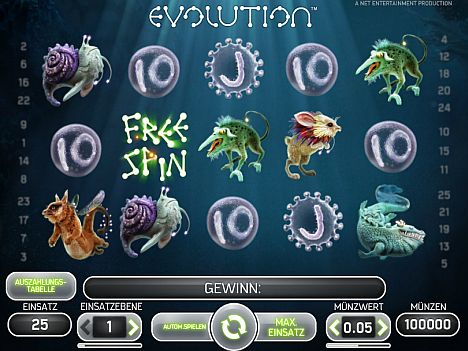 Evolution Spielautomat