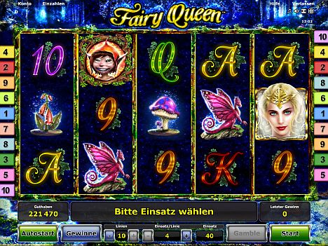 Fairy Queen Novoline
