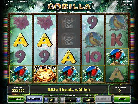 Gorilla Slot Novoline