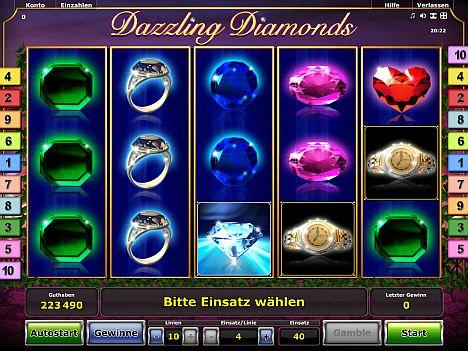 Dazzling Diamonds Novoline