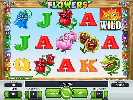 Flowers Spielautomat