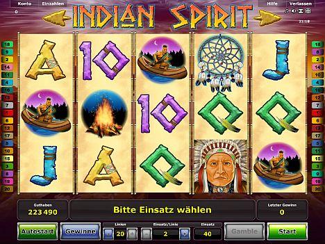 Indian Spirit Novoline