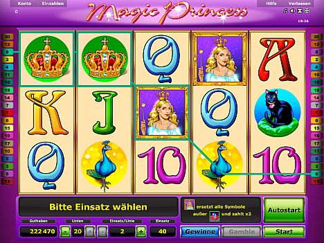 Magic Princess Novoline Slot